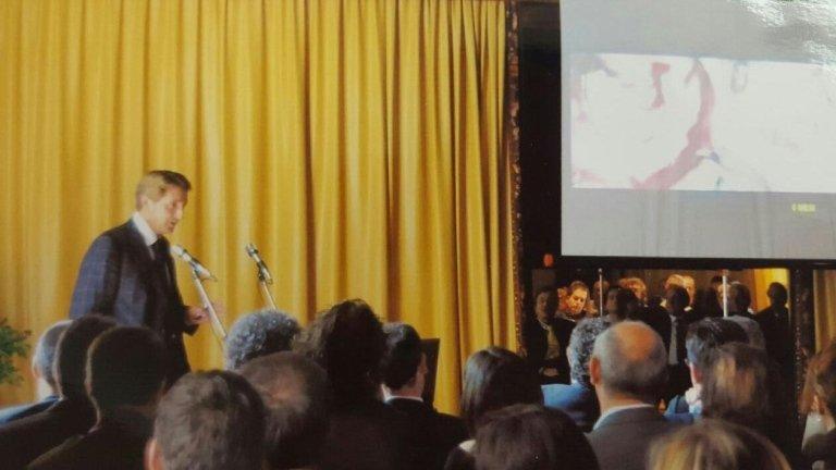 Dott. Prof. Paolo Brunamonti Binello Relatore a Lucca