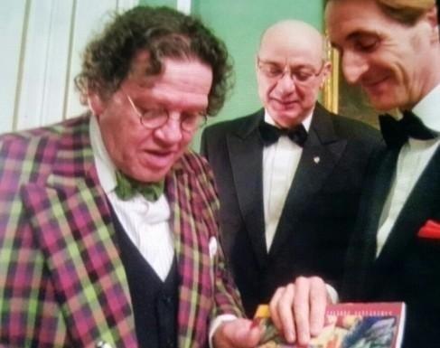 Dott. Prof. Paolo Brunamonti Binello al Rotary con Philippe Daverio