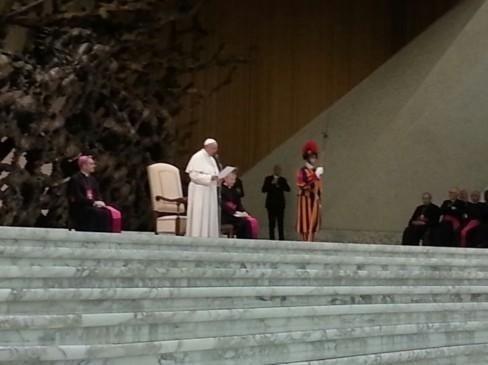 Congresso medici cattolici con il Santo Padre; Paolo Brunamonti Binello Presidente