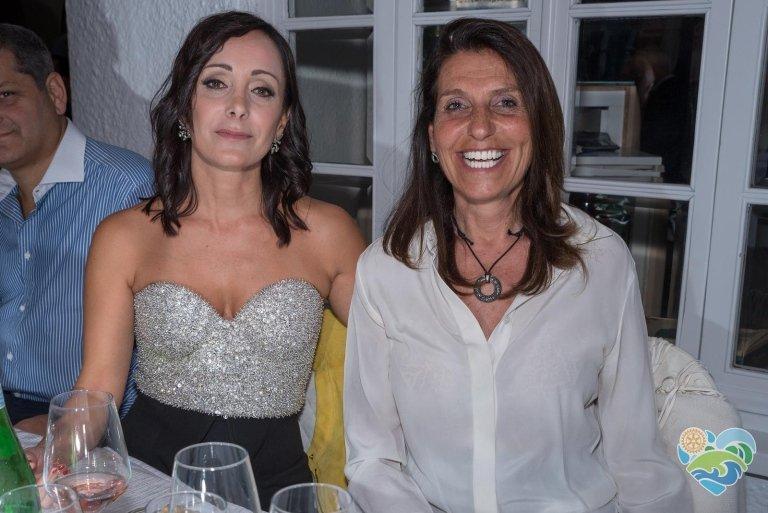 Raccolta fondi Rotary a favore della Gigi Ghirotti con la cara amica avvocato Lorenza Rosso