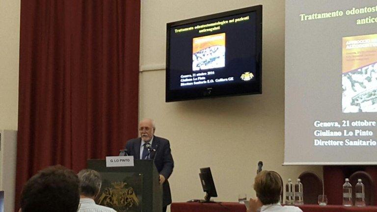 Dott. G. Lo Pinto Direttore Sanitario Medicina Interna