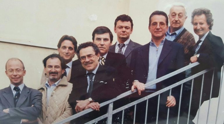 Dott. Prof. Paolo Brunamonti Binello e gli amici di sempre