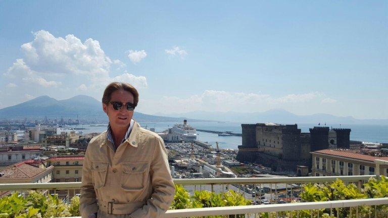 Relatore nella meravigliosa Napoli