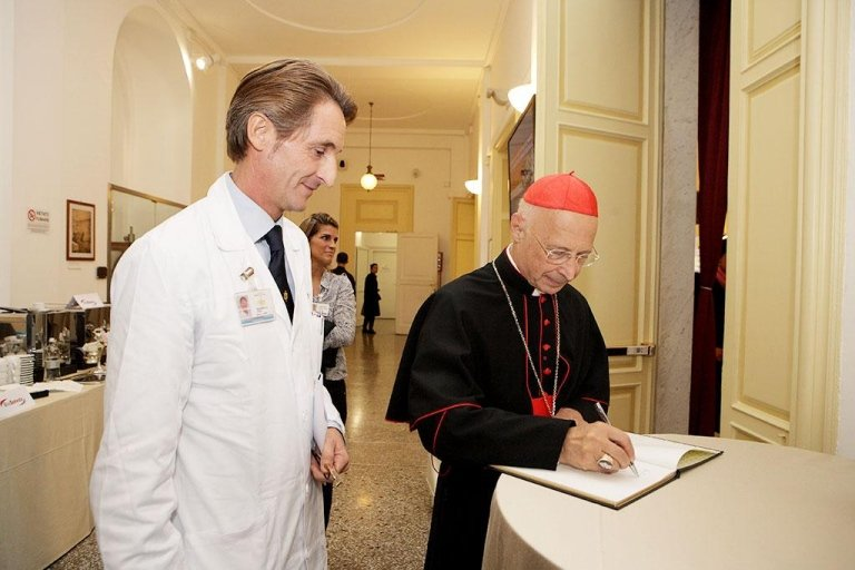 Sua Eminenza Reverendissima card Angelo Bagnasco
