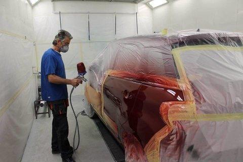 Forno verniciatura, cabina verniciatura a forno, verniciatura auto, verniciatura carrozzeria auto, Rieti