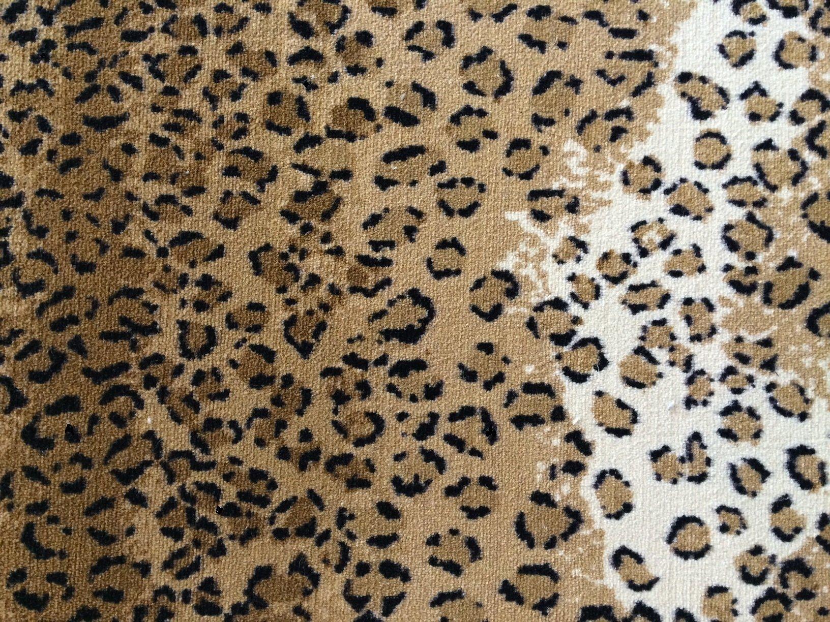 animalprint carpet