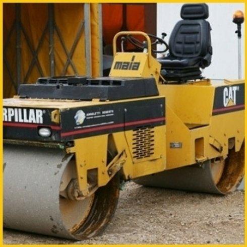 Rullo compressione asfalto