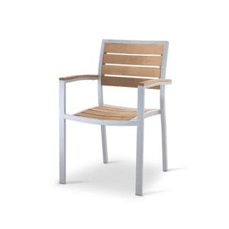 Sedia legno acciaio