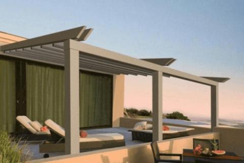 Pergolato alluminio terrazza