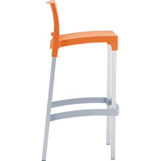 Sgabello arancione