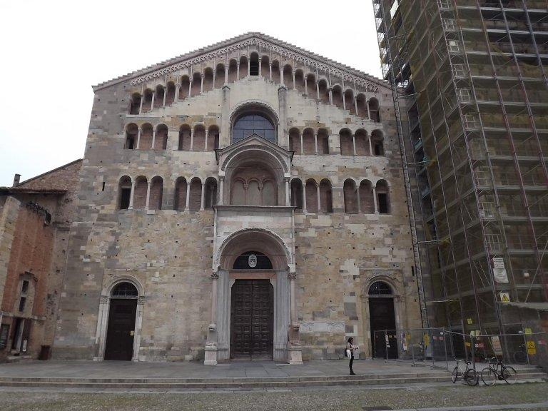 lavori birds control Duomo e Campanile di Parma