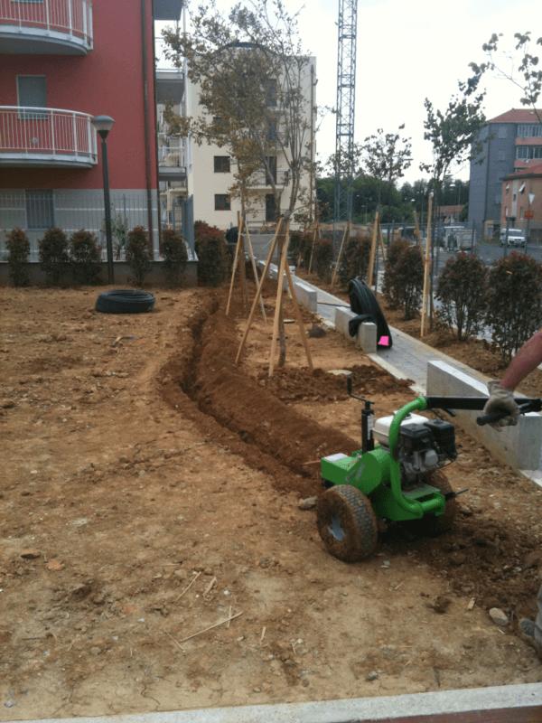 Realizzazione di impianto di irrigazione