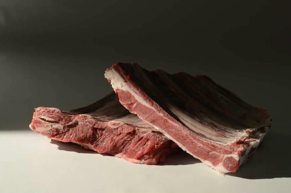 due tranci di carne