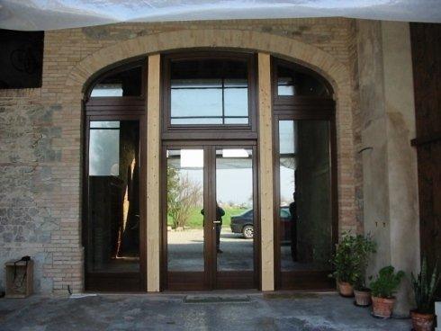 finestra ad arco, finestre, falegnameria