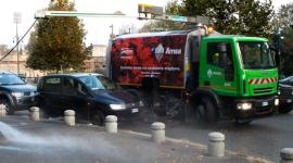 mezzi per pulizia stradale