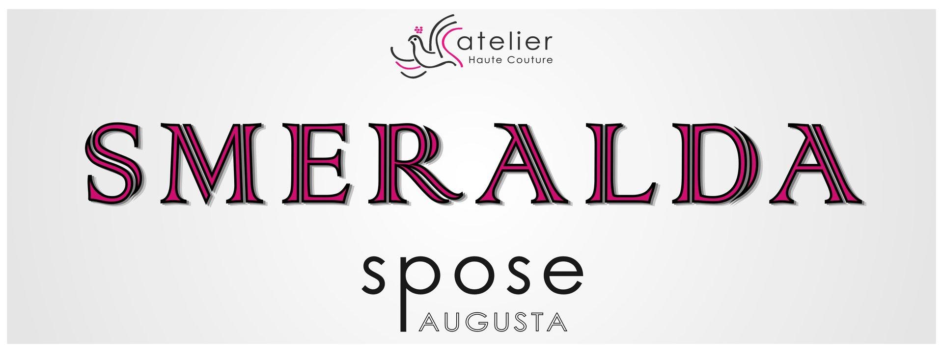 Vestito da sposa augusta sr atelier smeralda spose for Logo sito internet