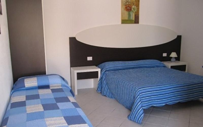 camera doppia con aggiunta terzo letto