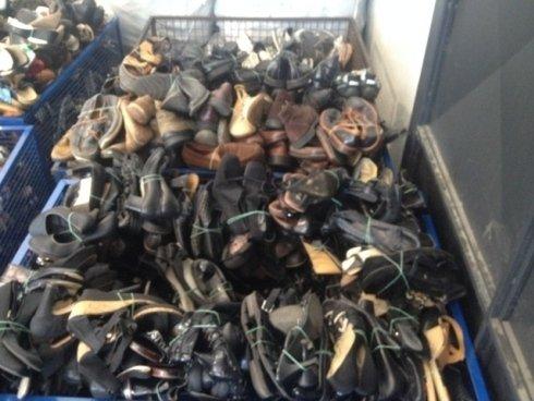 calzature usate, stracci usati, articoli usati
