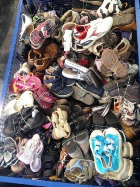 calzature usate, esportazione scarpe, esportazione articoli