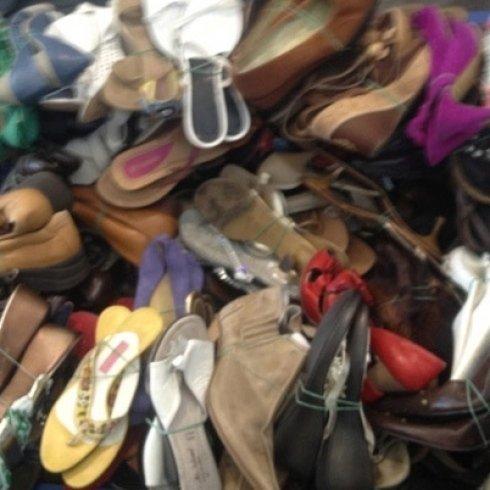 calzature usate, scarpe vendita, scarpe esportazione