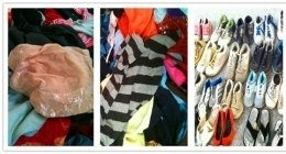 indumenti usati, scarpe di seconda mano come nuove, capi d'abbigliamento come nuovo