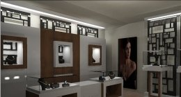 progettazione, interior design, gioielleria, negozio, vetrina, teca,