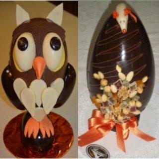 Uova di cioccolato Pezzaro