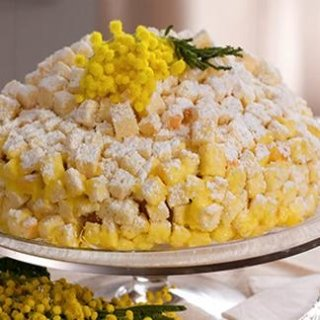 Torta mimosa Pezzaro