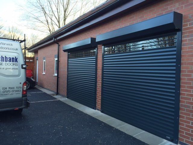Sturdy Roller Garage Doors Supplied Across Coventry