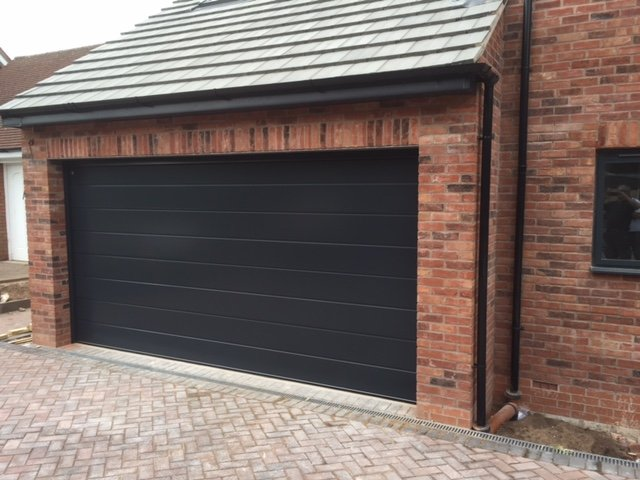 We Supply And Fit Sectional Garage Doors In The Coventry Area
