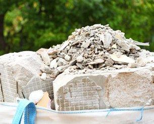 Concrete waste