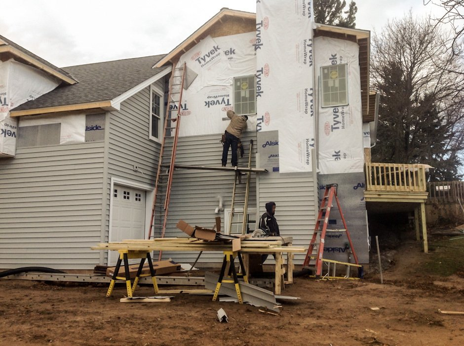 Siding construction in Lockport, Williamsville & Amherst, NY