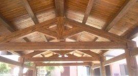 tetto legno capriata
