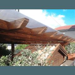 veranda con copertura