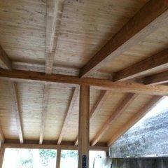 veranda legno lamellare