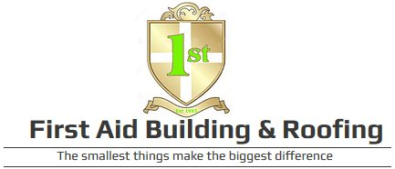 First Aid Building & Roofing logo