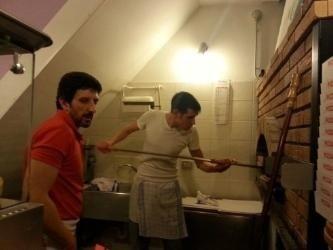 Il forno per le pizze