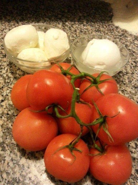pomodoro mozzarella