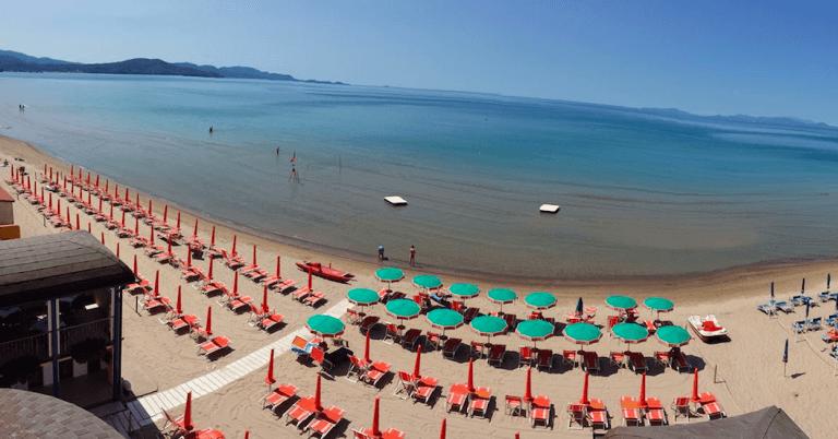 Hotel con Spiaggia Privata