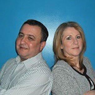 Richie Maddock and Anne Garrod