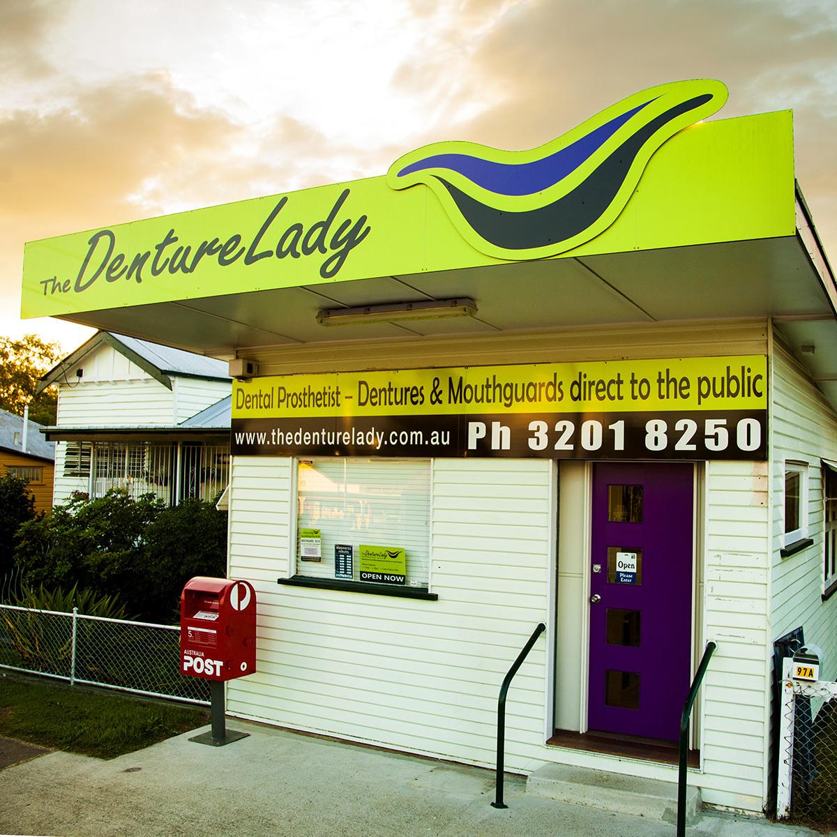 the denture lady shop