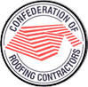 Confederation of roofing contractors logo