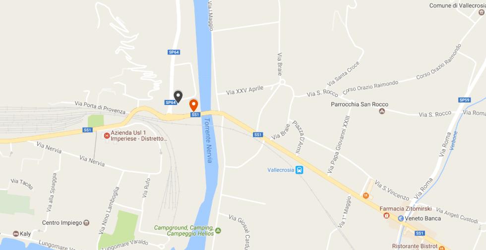 Sedi Centro Legno e Legnami Val Nervia