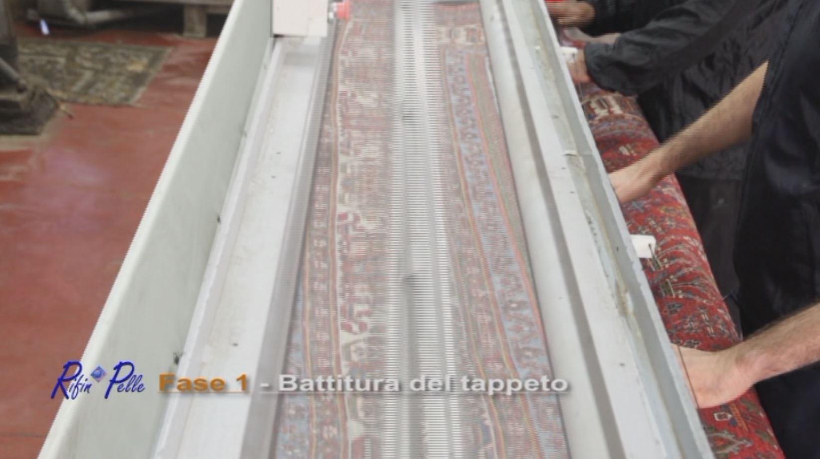 Battitura del tappeto