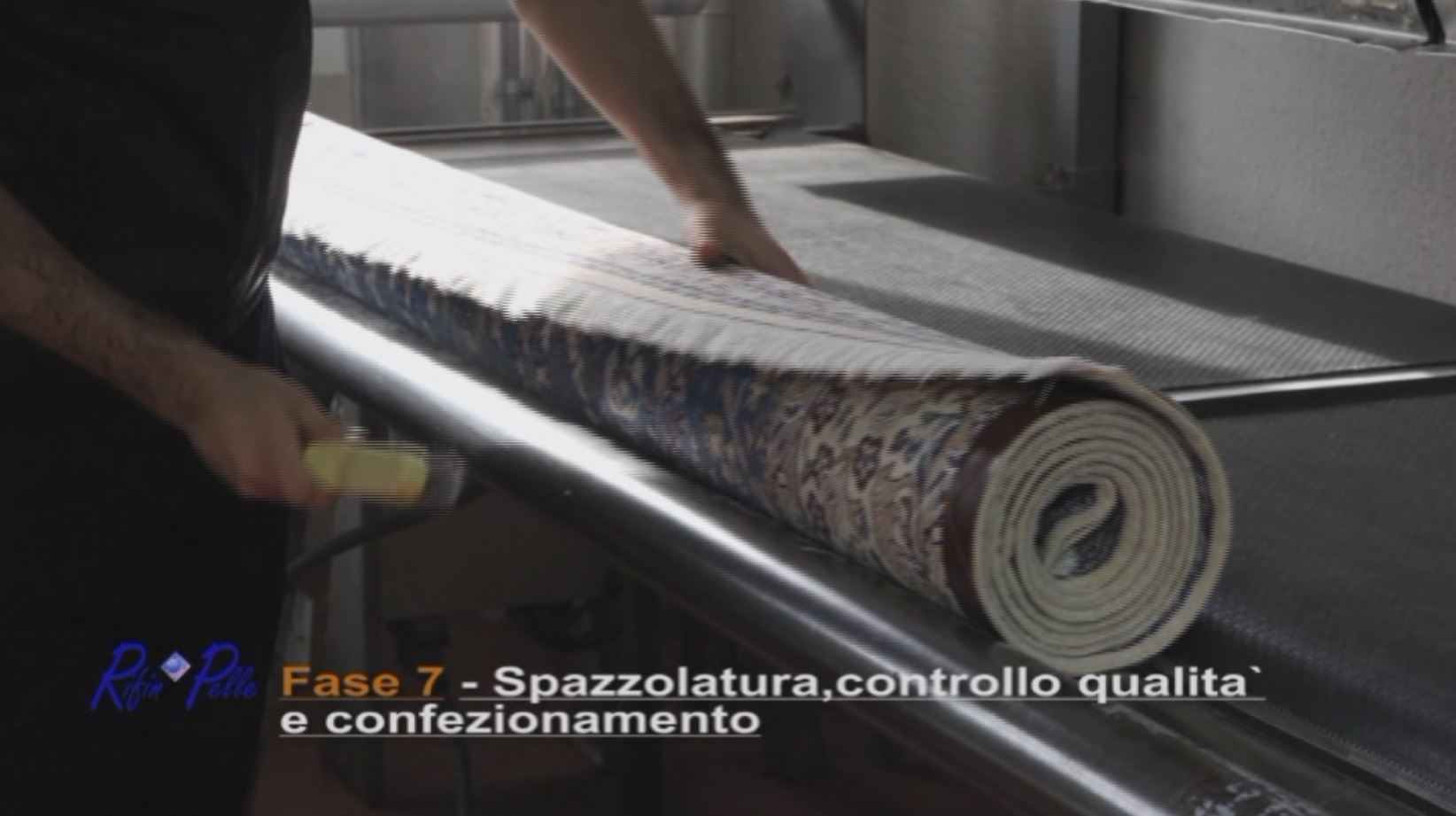 Spazzolatura,controllo qualità e confezionamento