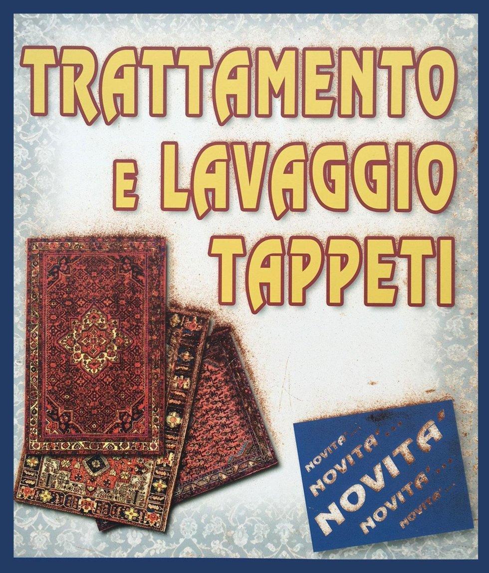 trattamento e lavaggio tappeti