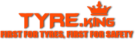 Tyre.King First for Tyres, First for Safety Company Logo
