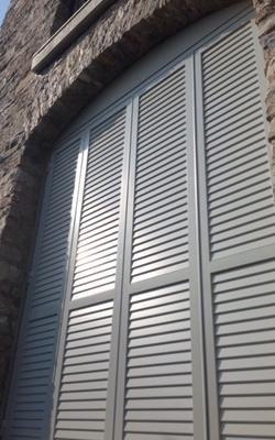 persiane per porte finestre in alluminio
