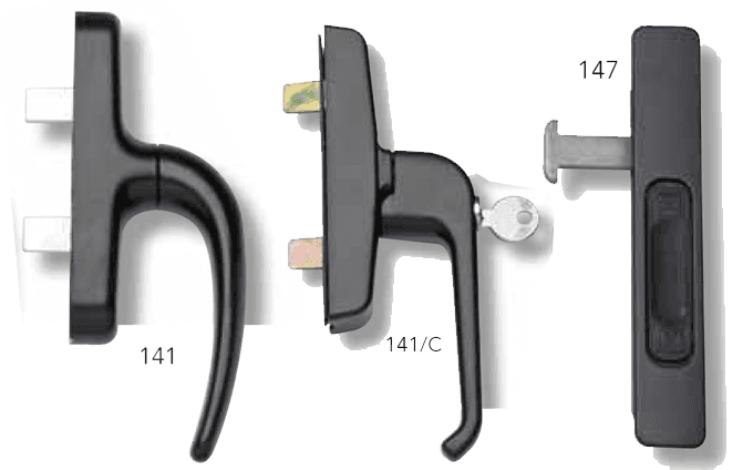 HANDLES AND BOLTS