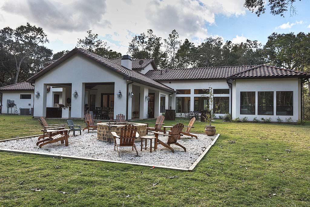 Houston area home builders gallery of the marcann c for Custom home plans houston